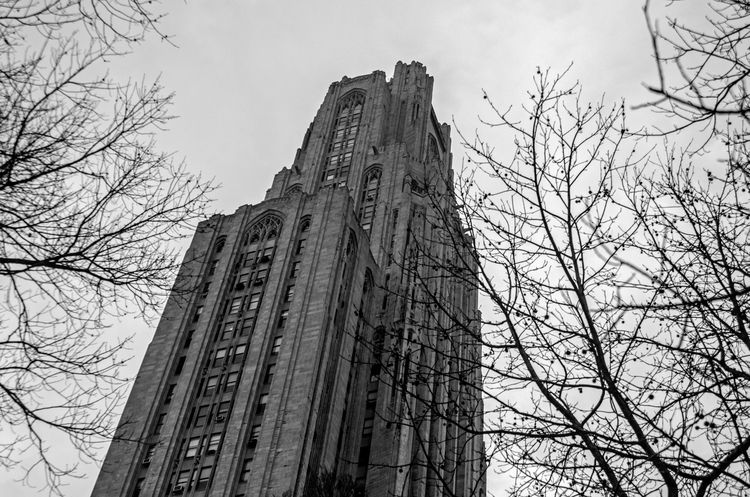 Cathedral of Learning -Universit of Pitt - Pittsburgh, Pennsylvania