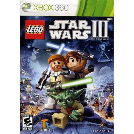 Lego Star Wars 3 The Clone Wars Xbox 360 Walmart Com Star Wars Wallpaper Lego Star Wars Lego War