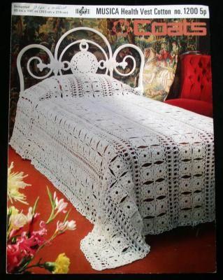 Free Crochet Bedspread Patterns Crochet Club Crochet Bedspread