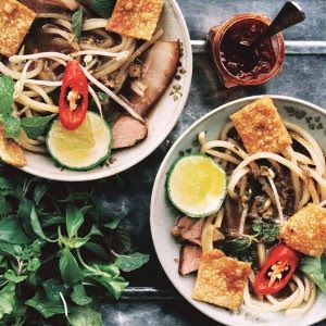 Braised Spiced Pork with Cao Lau Noodles: Recipe of the Day