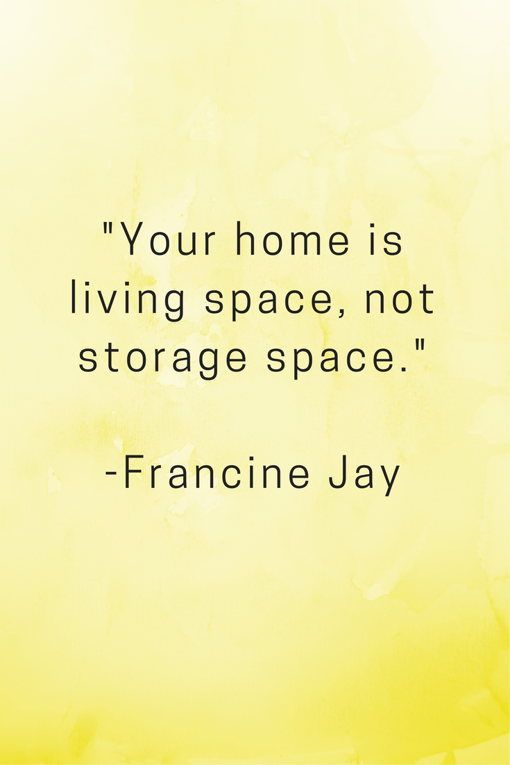 home decor quotes, organising, organised life,creating space ...