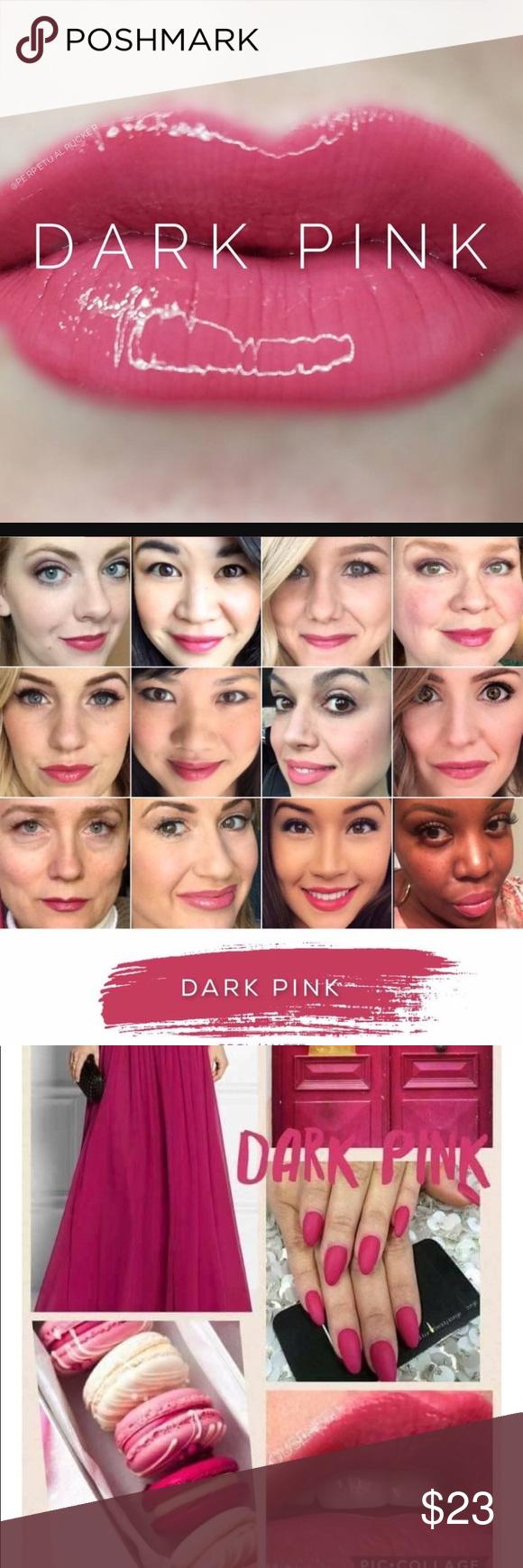 Color drawdown - Lipsense Smudge Proof Lip Color Dark Pink Nwt