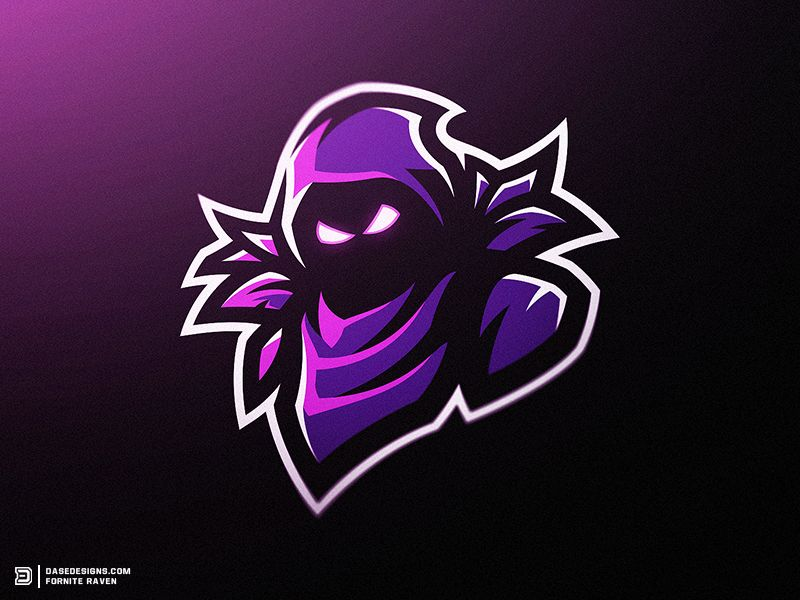 Fortnite Raven Mascot Logo In 2019 Cool Design Ideas Esports