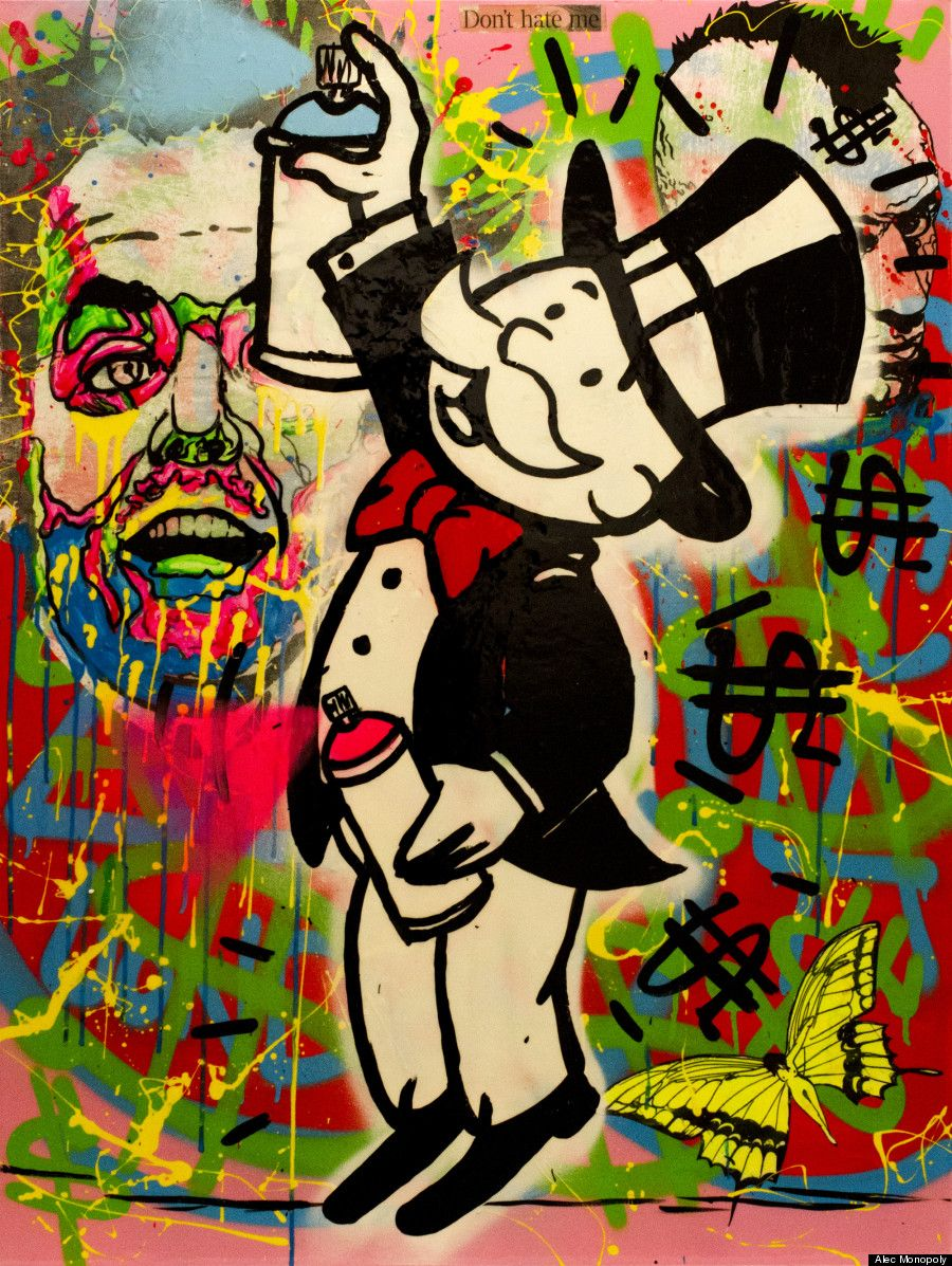 Alec Monopoly Interview American Street Artist Takes On Extreme
