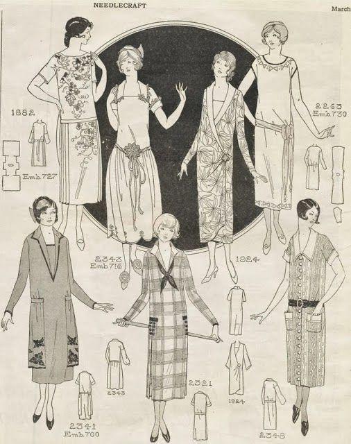 Historiador del armario: hacer su propio vestido 1920 de 1 Hora: Paso 1, el patrón