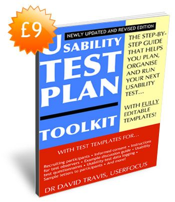 Usability Test Plan Toolkit  Ux Tools  Process