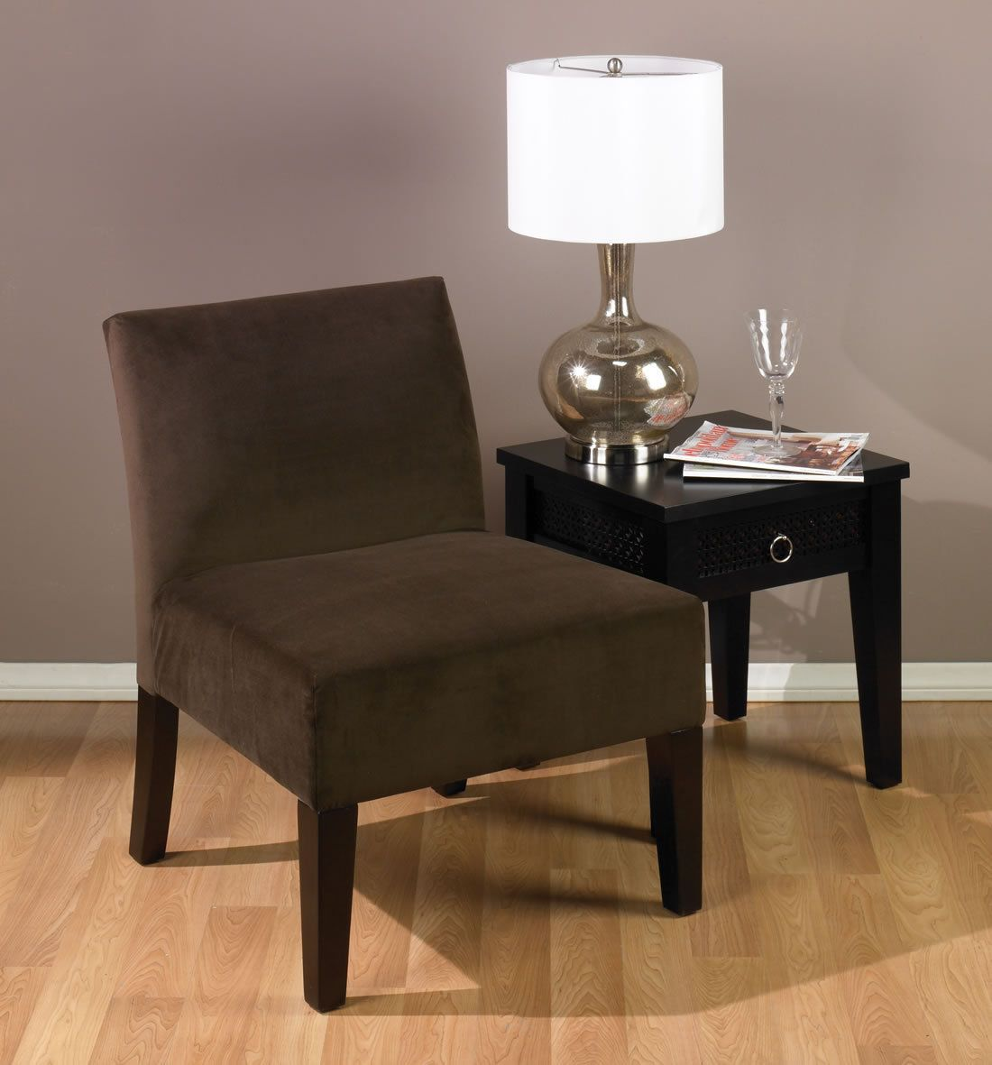 Best On Sale Avenue Six Laguna Armless Lounge Accent Chair 400 x 300