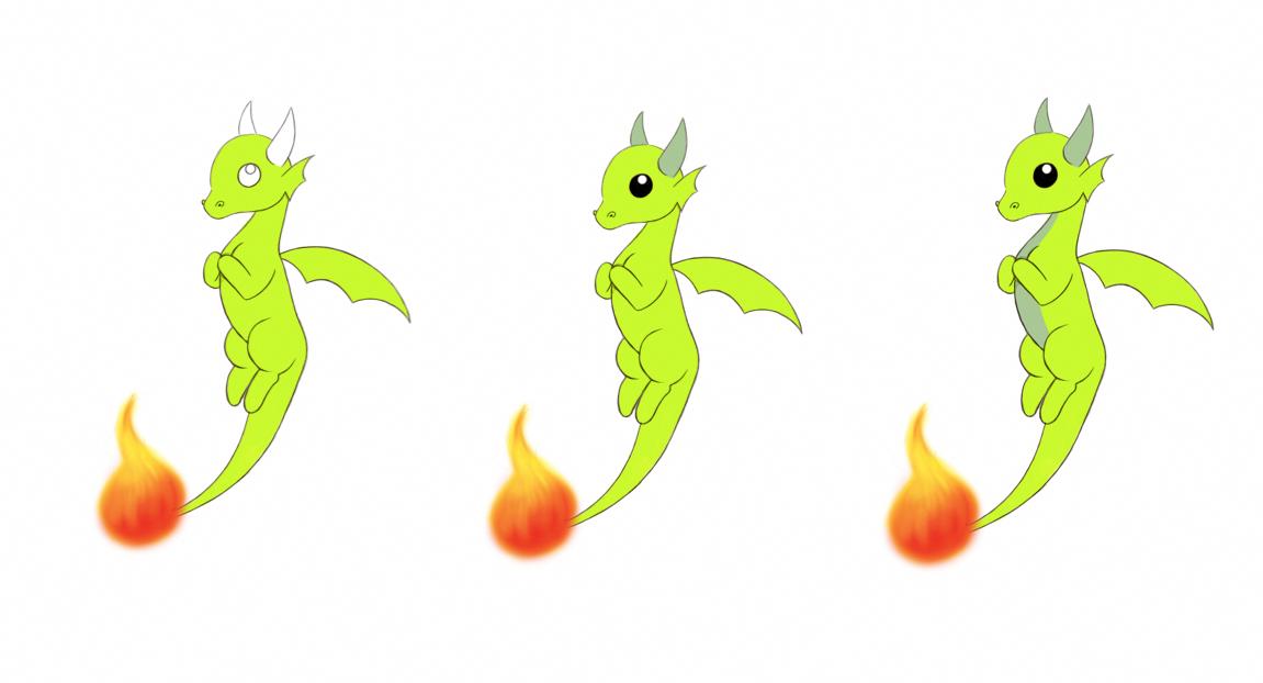 Dessin De Dragon Facile