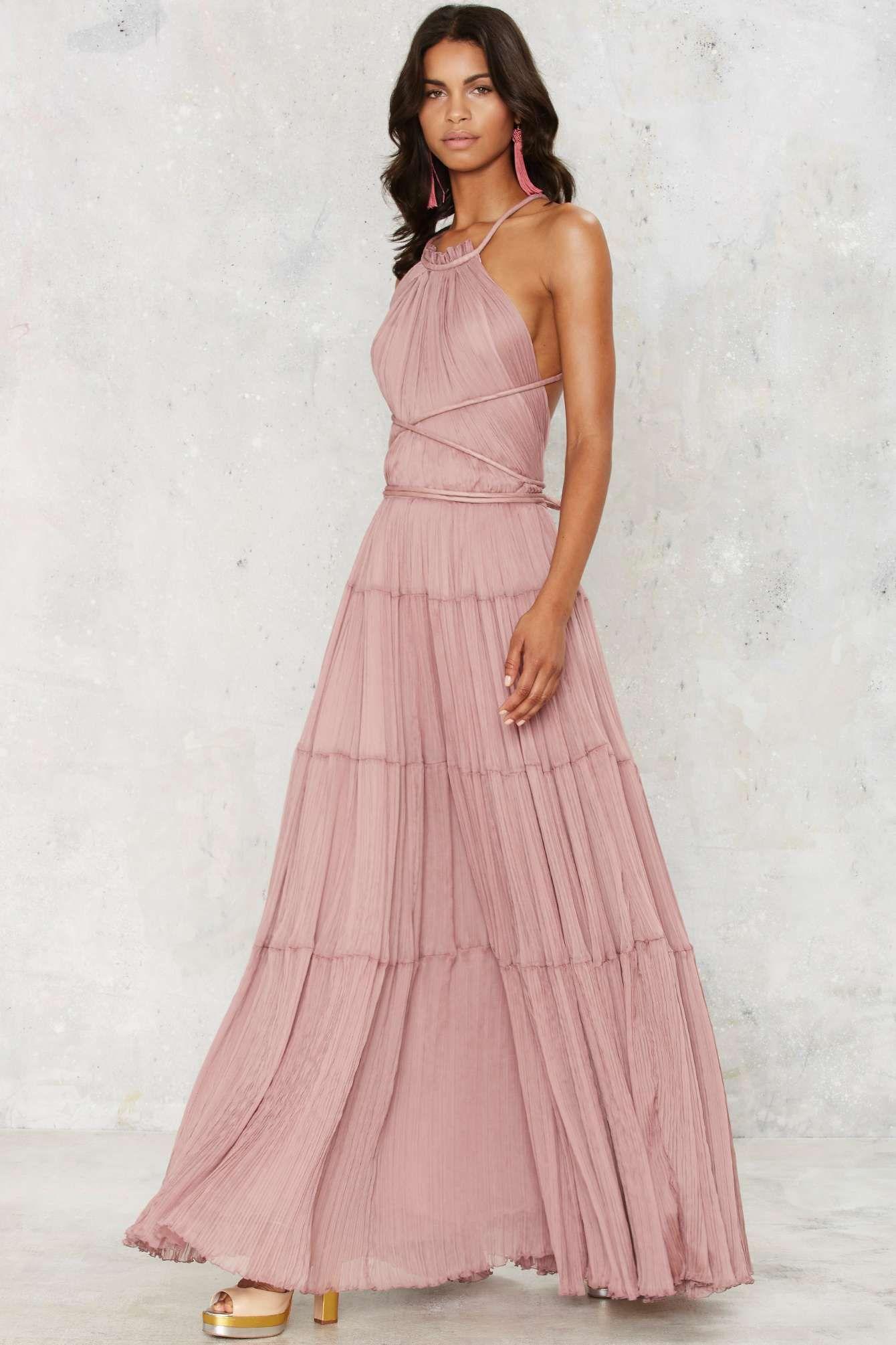 abf00dd9493 at nasty gal bacall maxi dress
