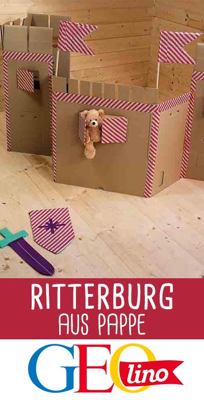 Basteln: Ritterburg aus Pappe in 2018 | Upcycling | Pinterest ...