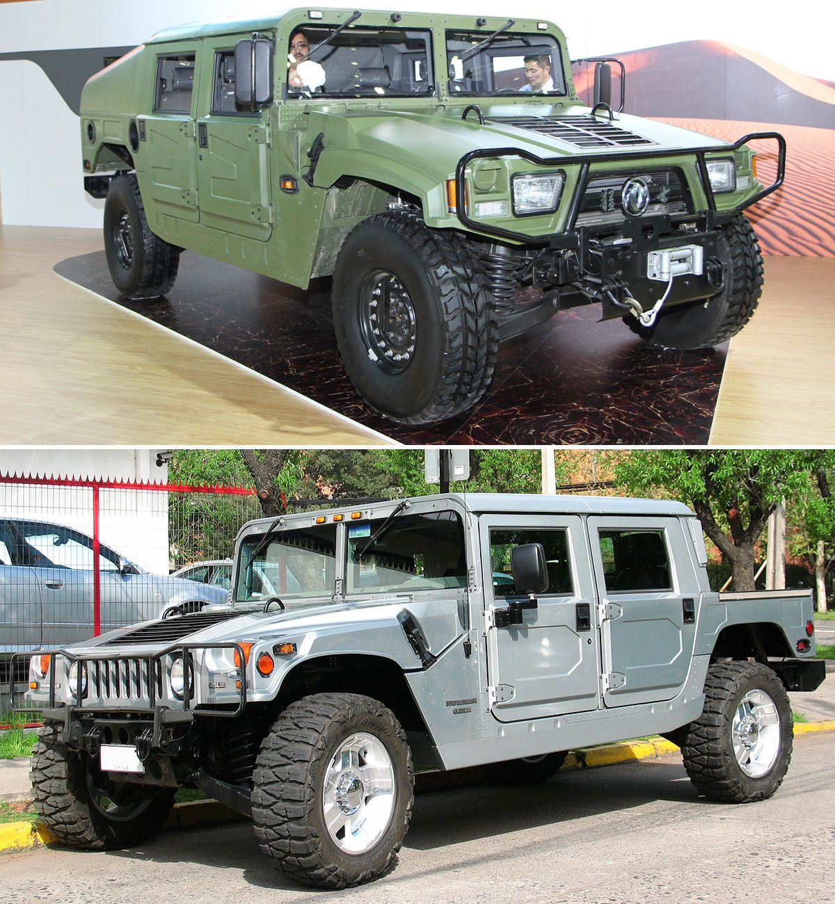 Hummer h1 dongfeng eq2050