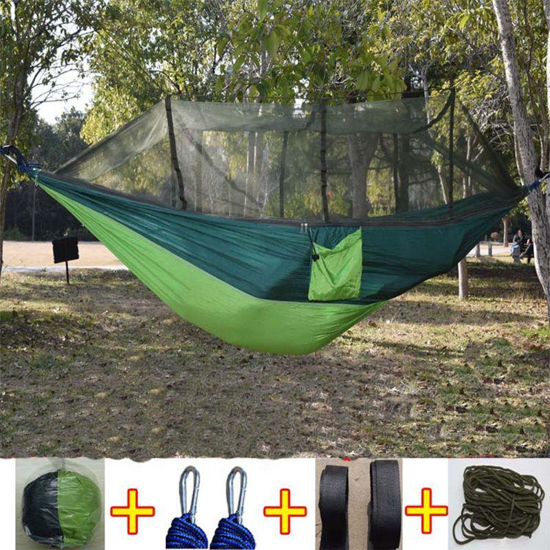 Acheter Date De Mode Parachute Tissu Hamac 1 2 Personne Portable