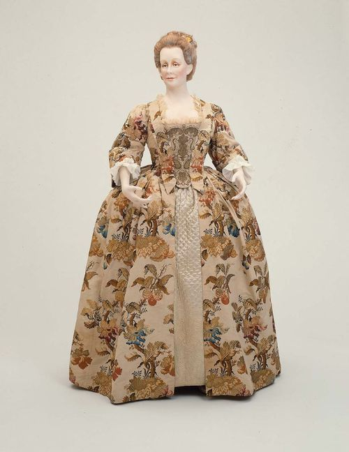 Robe A La Francaise 1740 1750 The Museum Of Fine Arts Boston Historical Dresses 18th Century Clothing 18th Century Fashion
