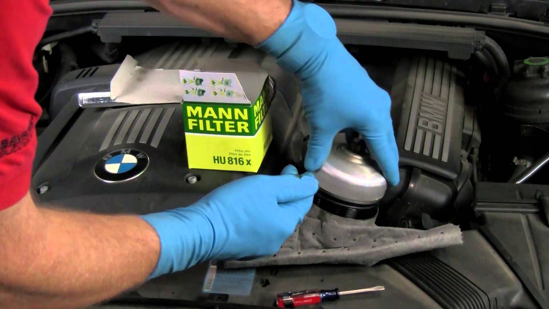 Changing Engine Oil In Bmw Mini With And Without Dip Stick