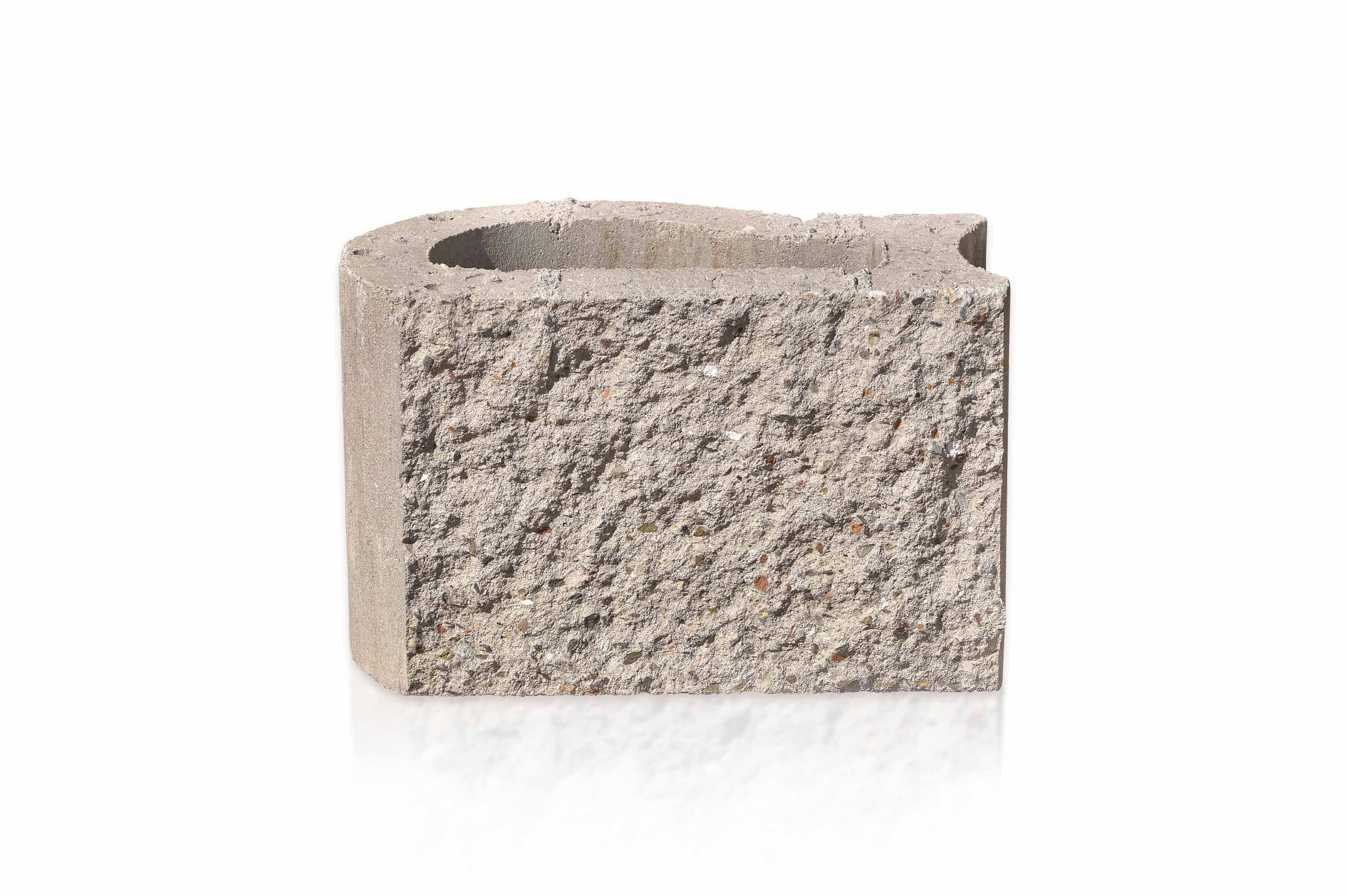 Product Pick Retaining Wall Block Vr18 Uniquely Shaped For Versatile Assembly And Easy Use This Double Fac Retaining Wall Block Concrete Blocks Retaining Wall