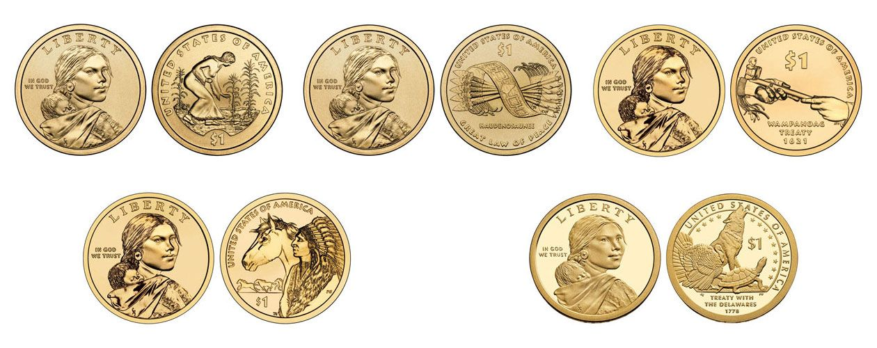 Sacagawea Gold Dollar Value Chart Caska