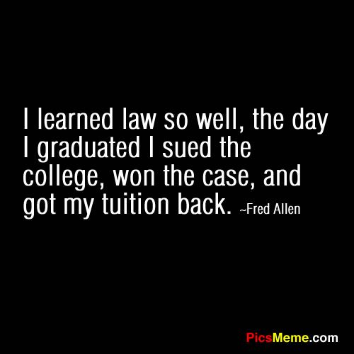 funny law quotes