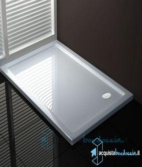 Piatto doccia 80x100 cm altezza 4 cm Box doccia, Bagno