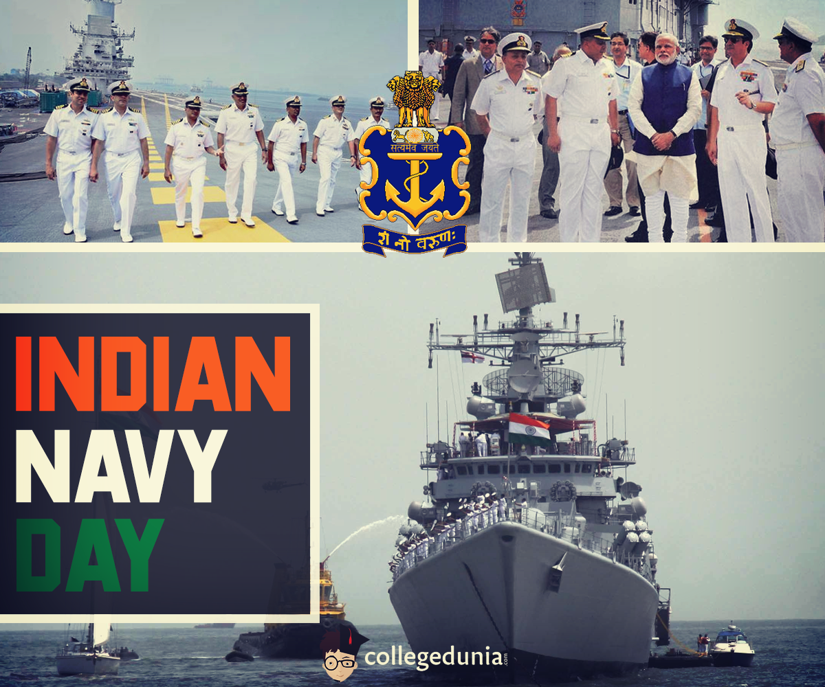 Navy Day In India Is Observed On 4th December Every Year To Celebrate The Achievements And Role Of The Naval Force To The Navy Day Indian Navy Day Top Colleges
