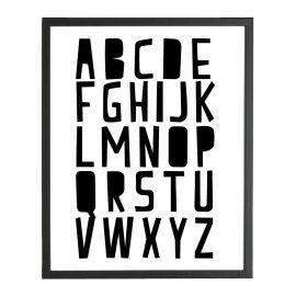 Poster alfabet www.villavica.nl 30% off!