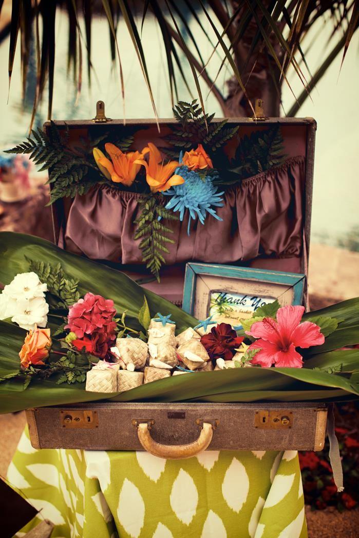 Matrimonio Tema Hawaiano : Bridal shower luau party planning ideas decorations