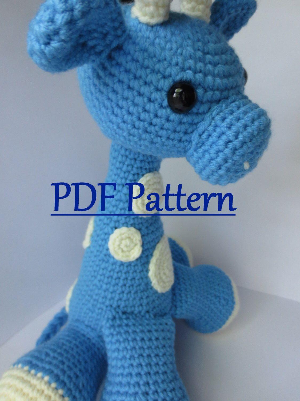 CROCHET PATTERN Amigurumi Giraffe,Crochet Amigurumi Pattern Giraffe ...