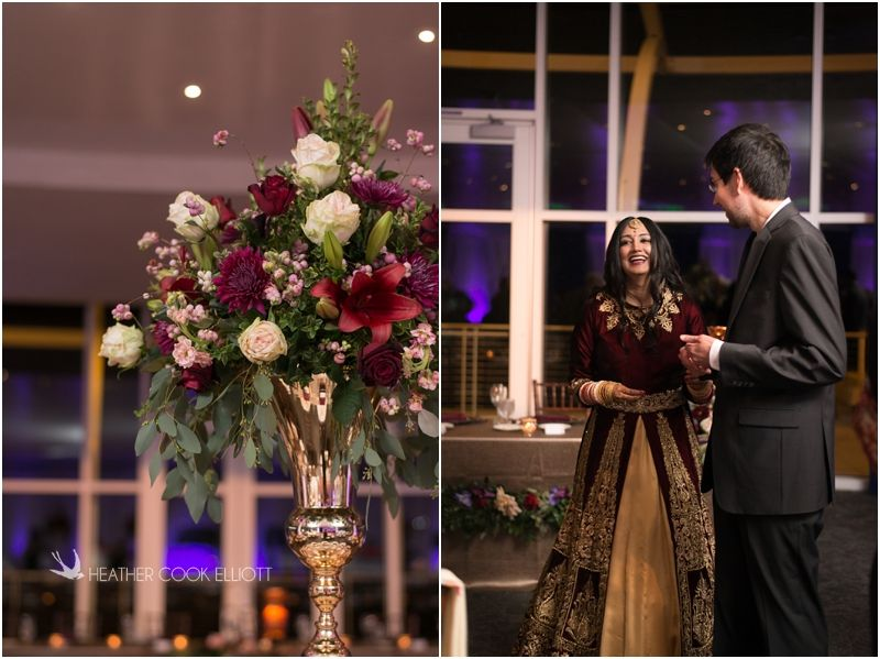 Milwaukee sikh wedding by Heather Cook Elliott Photography. Flowers by Impressions by Esther Fleming