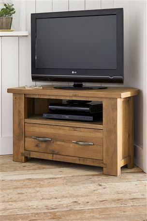 Hartford Solid Pine Corner TV unit