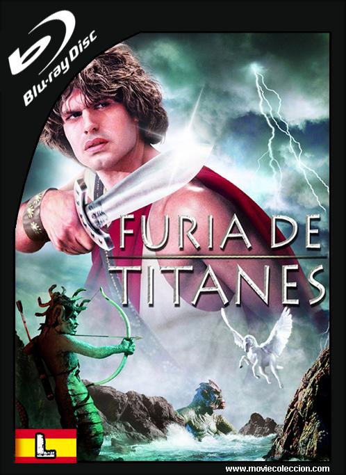 Furia De Titanes 1981 Brrip Latino Clash Of The Titans Harry Hamlin Adventure Movies