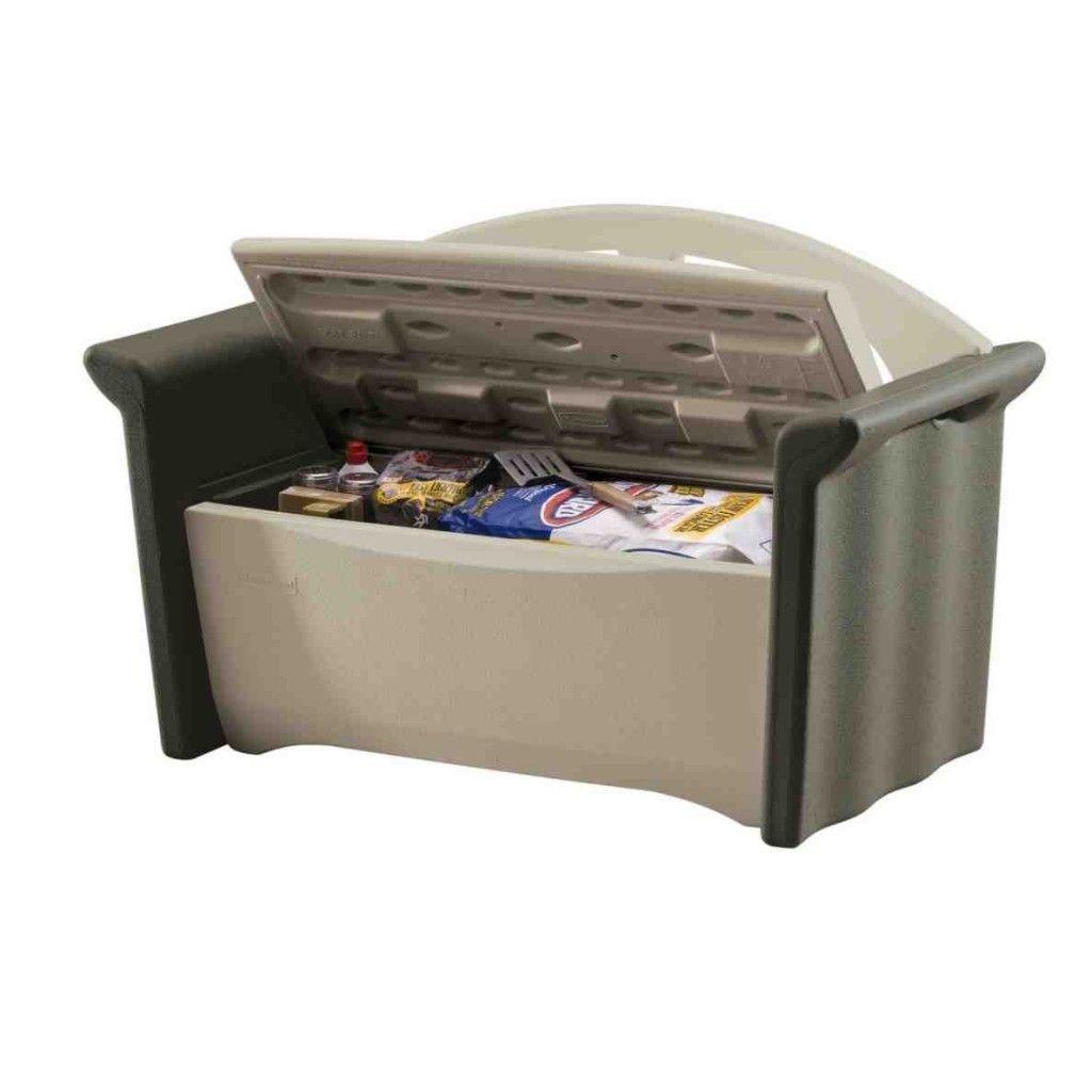 Rubbermaid Patio Storage Bench 3764