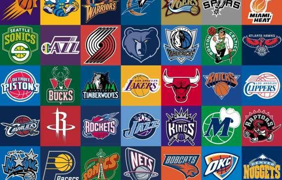 All Nba Basketball Teams Logos Preppy Style Nba