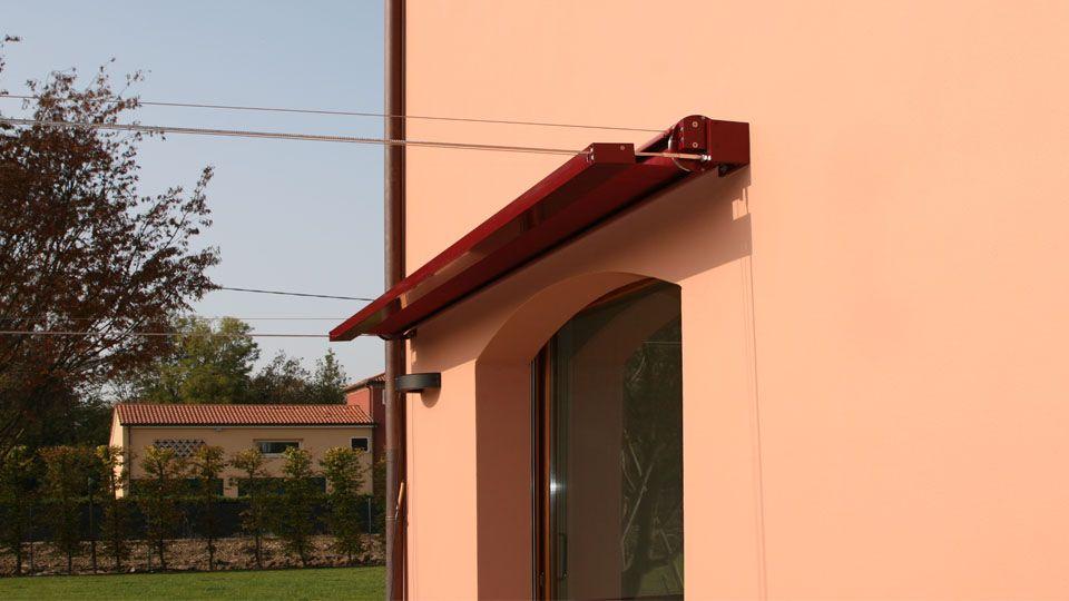 Tende a rullo orizzontali esterno per gazebo terrazze pompeiane pergola pinterest gazebo - Tende a rullo per esterno ...