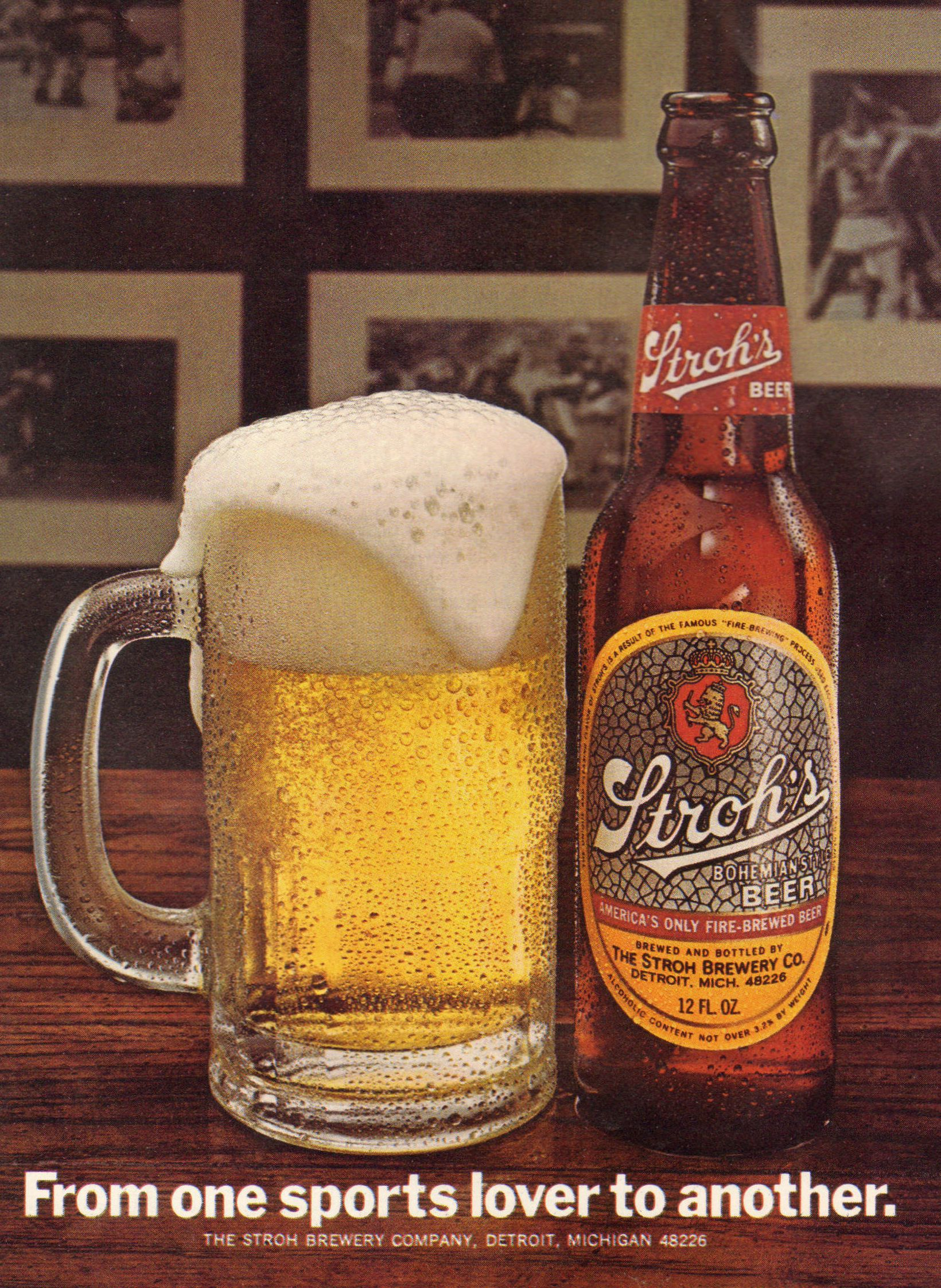 The Stroh Brewery Company Was A Beer Brewery Located In Detroit