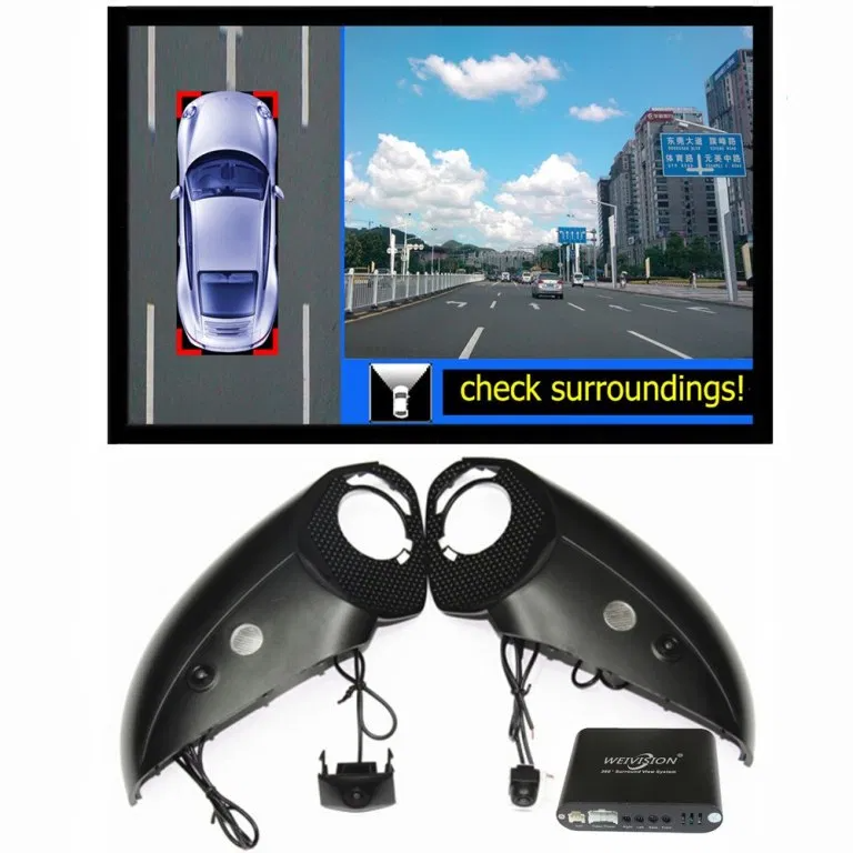 360 Degree Bird View Car Dvr Record With Parking Monitor System All Round Rear View Camera For Audi Q5 Q7 Q3 A6l A4l Audi Q3 Rear View Camera Audi