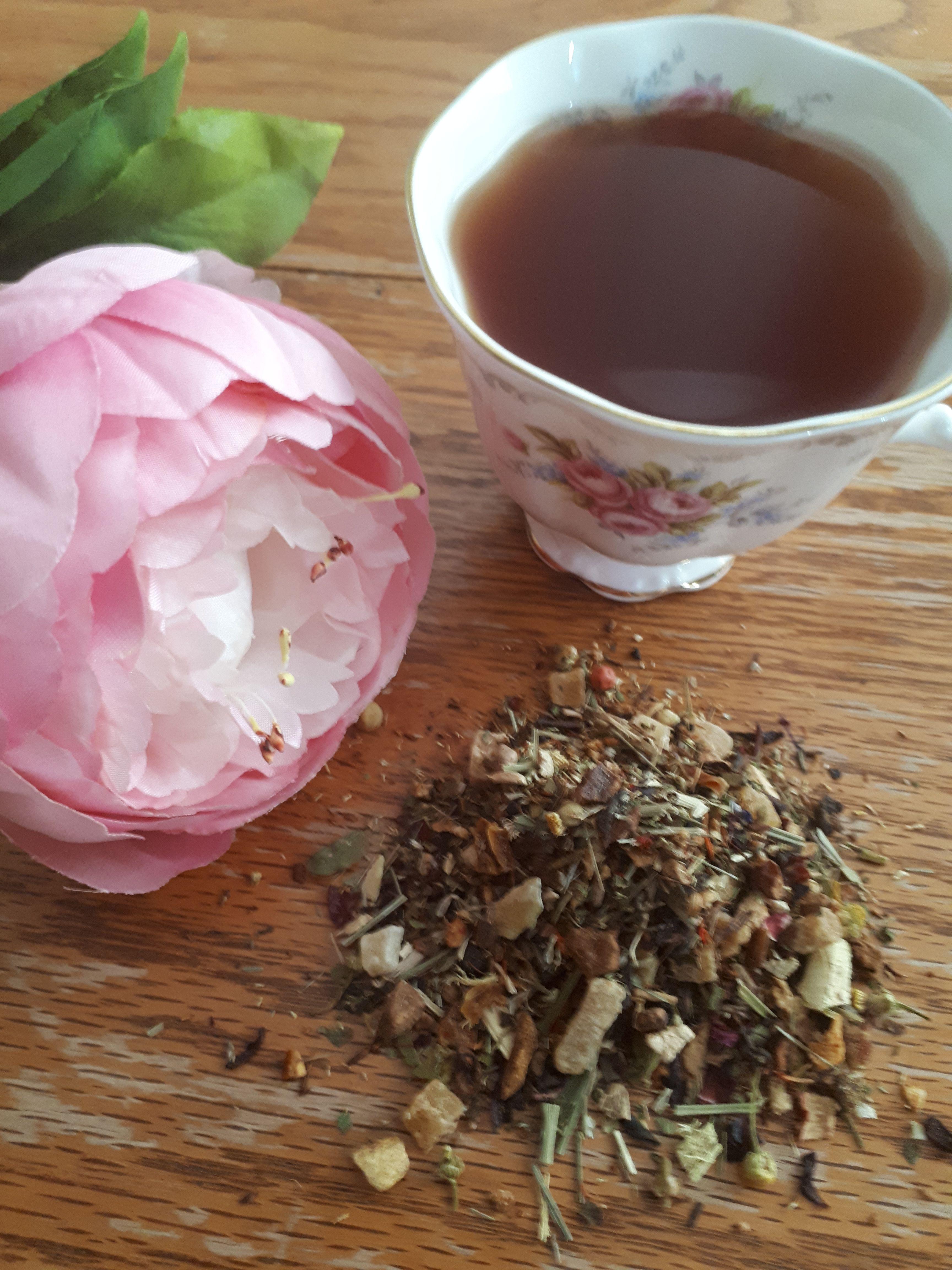 Strawberry Moringa | Sahara Tea by Sahara & Co
