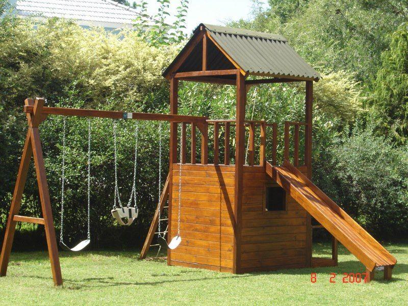 Juegos de madera para jardin juego guilligan s1 casas for Casas para jardin infantil