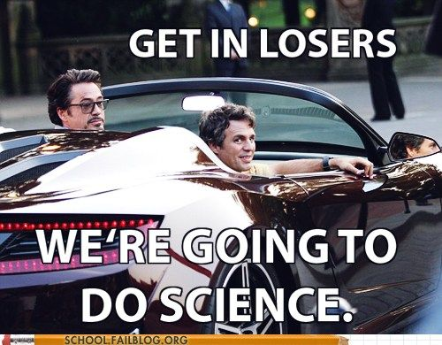 Science Rules.