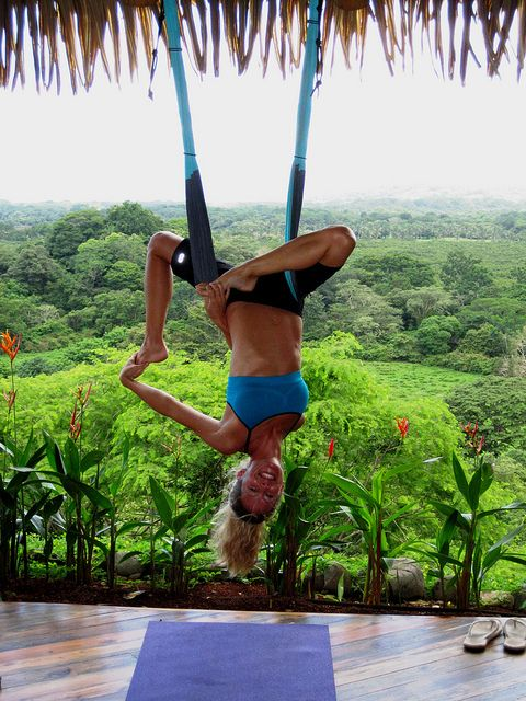 Yoga Retreat Nosara Aerial Yoga Yoga Retreat Air Yoga