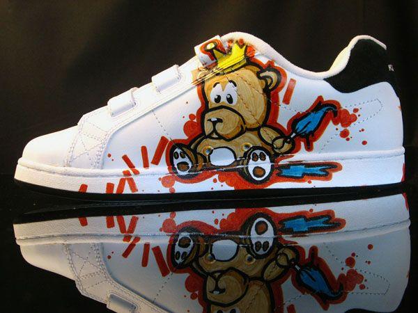 Graffiti Trainer Grafitti Sneakers Sneakers Nike