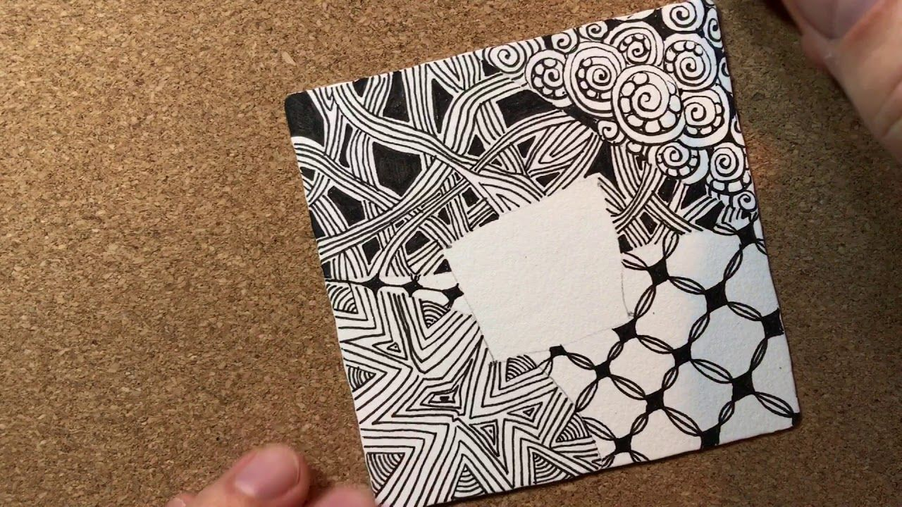 Zentangle Project Pack 02 Day One Zentangle Patterns