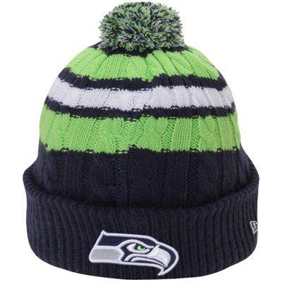2f076a84dda Seattle Seahawks New Era Women s Wintry Warm Knit Hat – College Navy -  Seahawks Proshop