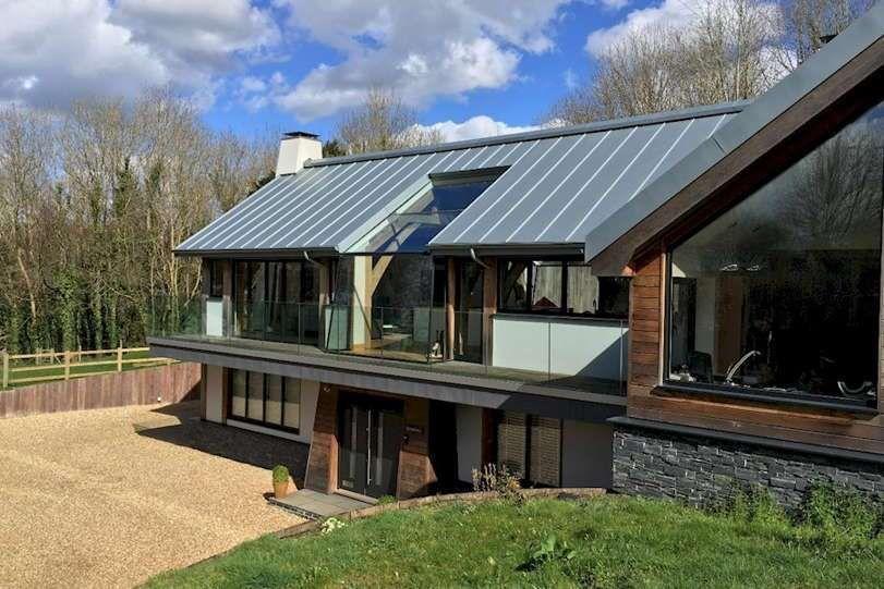Gambar Rumah Dengan Atap Seng Zinc Roof Agricultural Buildings Zinc Cladding