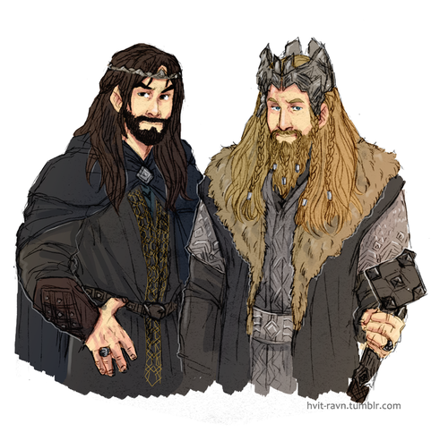 fili king under the mountain and prince kili