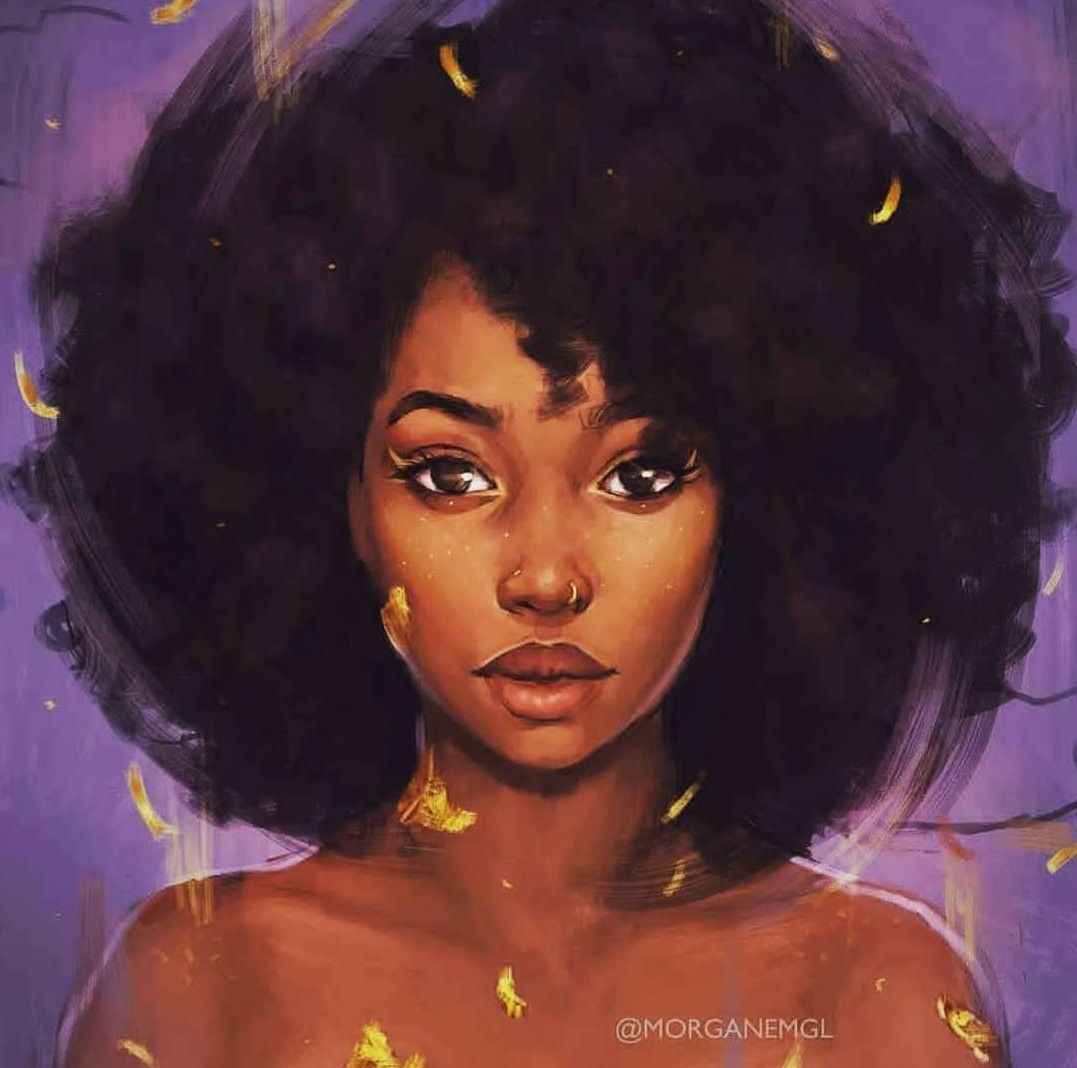 Pin by Emms on black girl magic  Pinterest  Painting Black