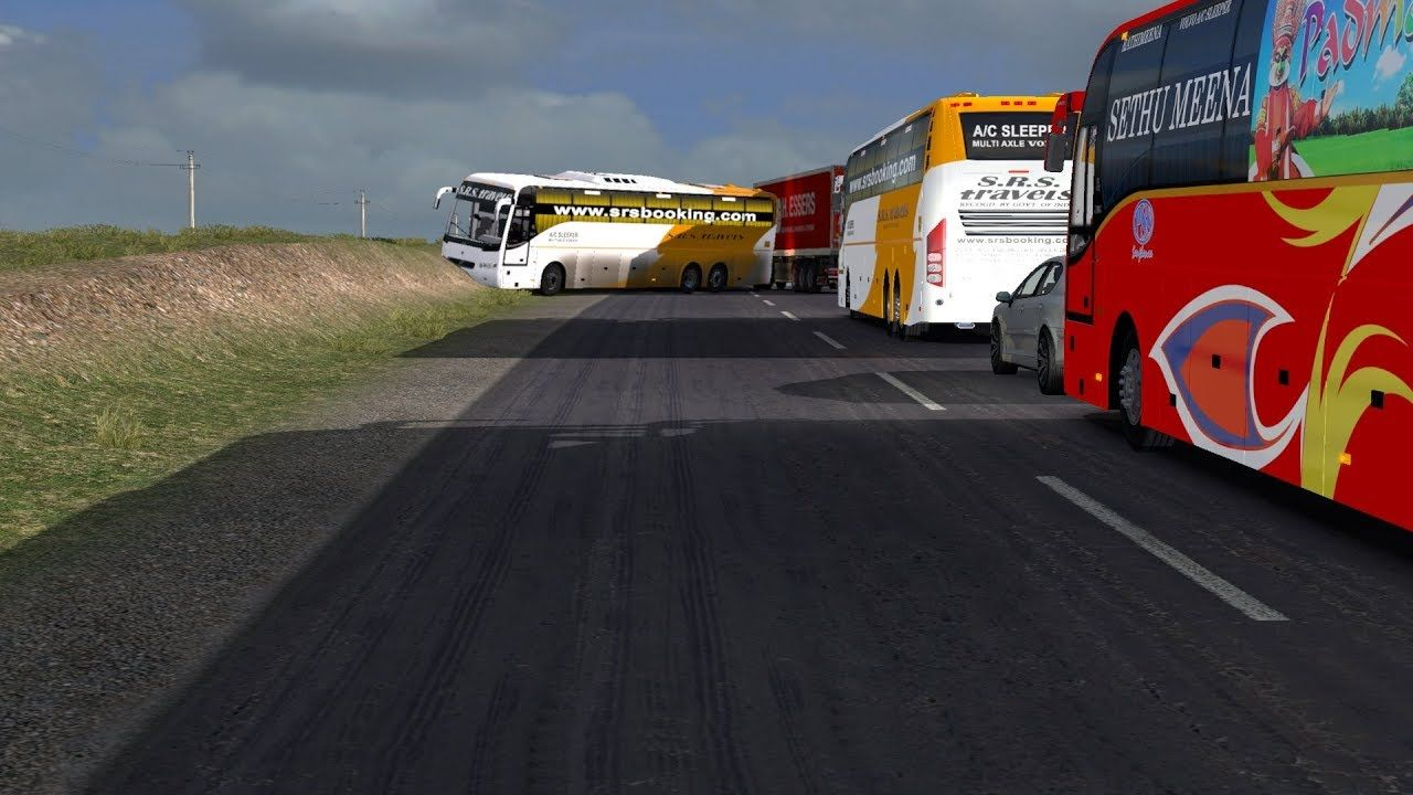 🔴 SRS Travels Indian Bus