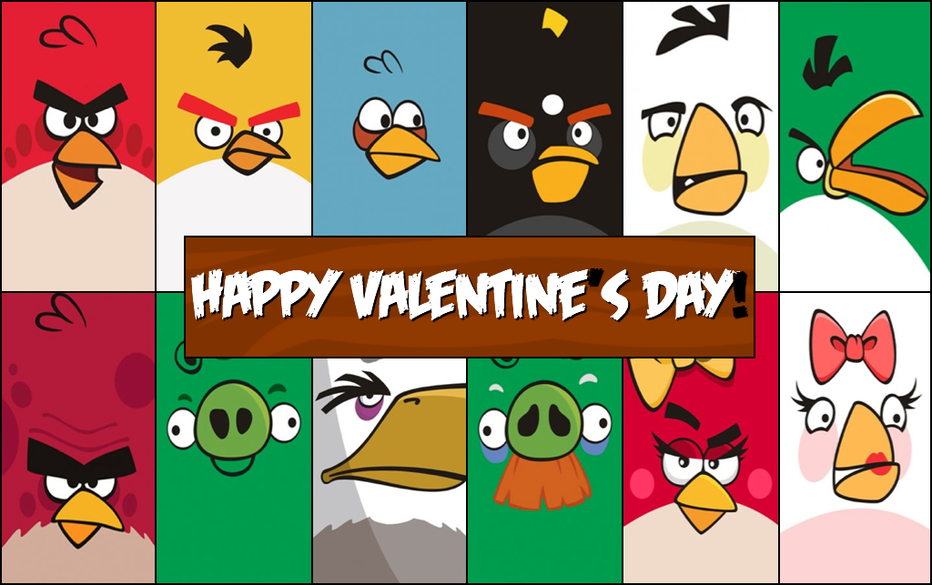 Free Printable Angry Birds Valentines Cards Printable Valentines Cards Valentines Printables Free Kids Cards