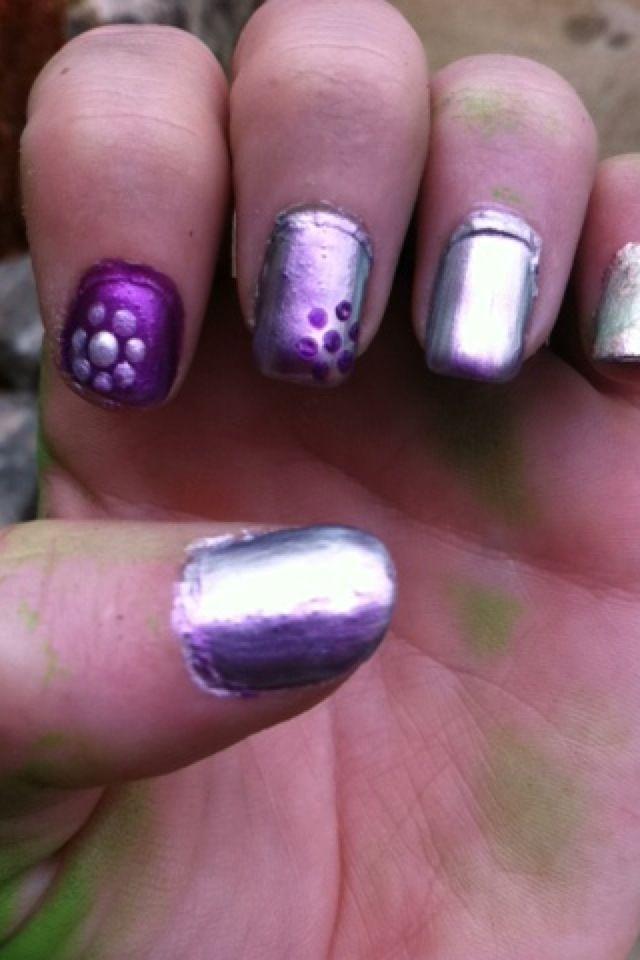 Bobby Pin Nail Art