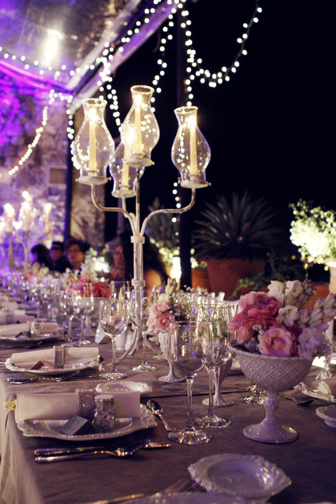 Terraza Trinitate En San Miguel De Allende Wedding Table