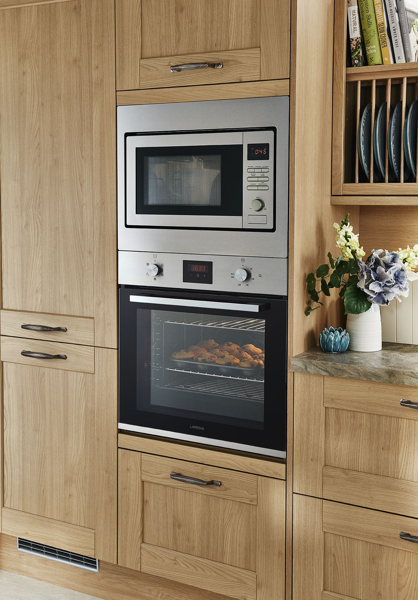 Howdens Wall oven, Oven wall unit, Kitchen fittings