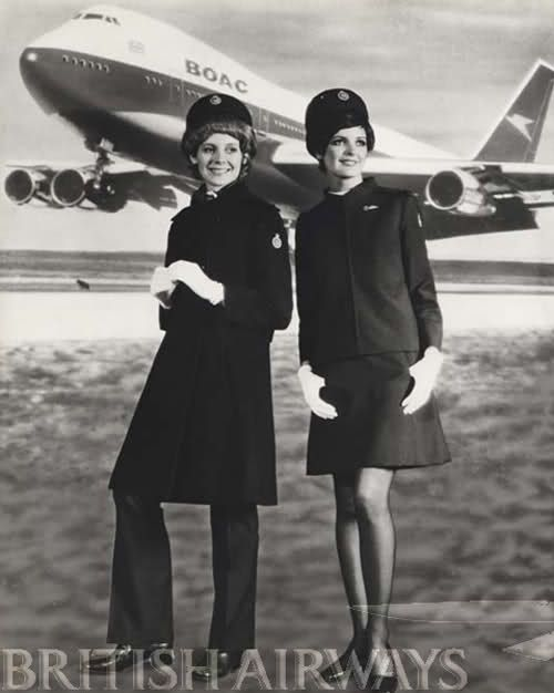 Flight attendants used to be seriously hot (16 Photos) Vintage - british airways flight attendant sample resume
